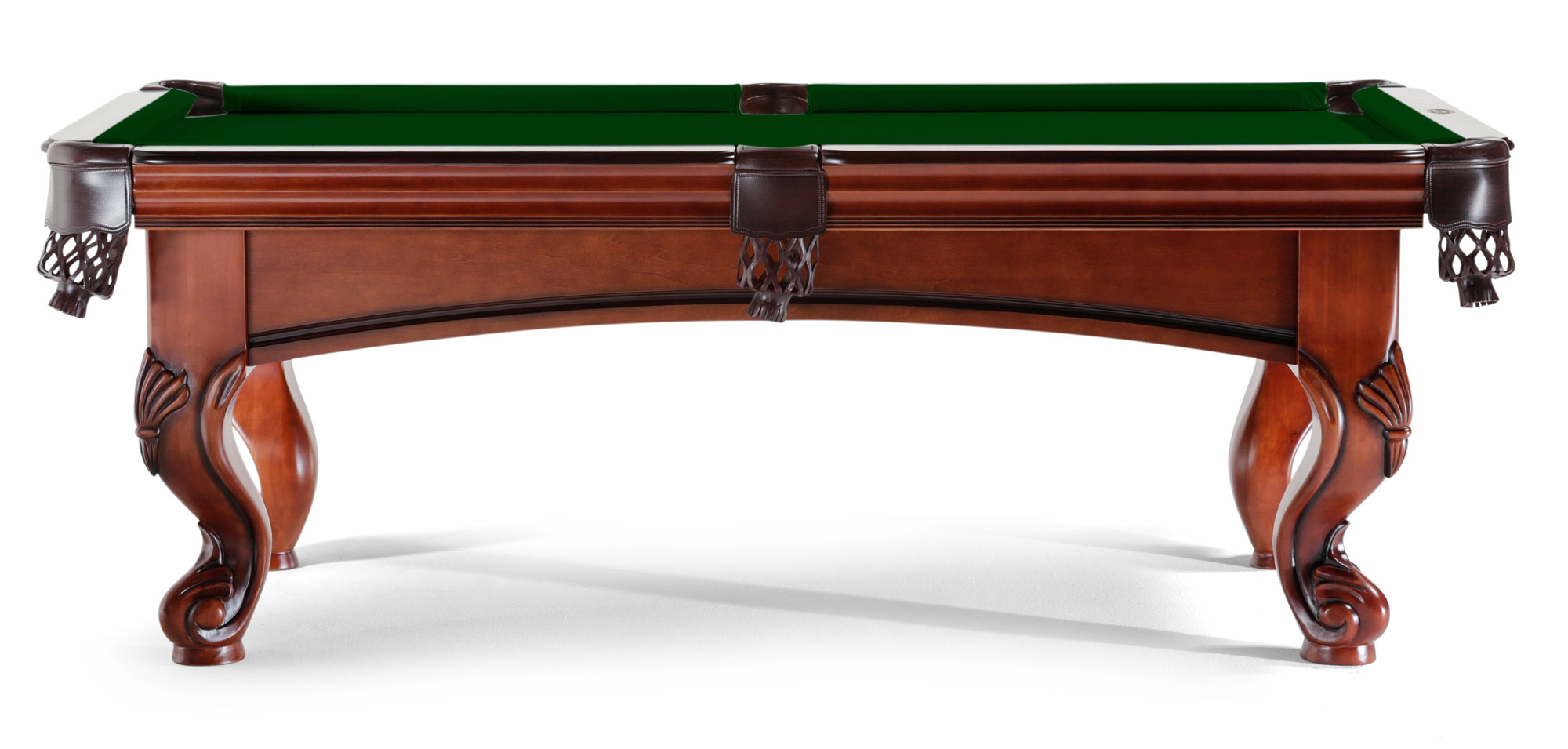 Each Table Is Constructed From 100% Solid Hardwood. Support Beams Stabilize  Each Table And Ensure A Solid, Level Playing Surface.